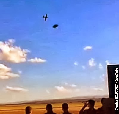 UFOs Caught on Video at Argentina Air Show - 2012