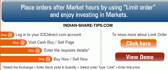 How to do option trading in icicidirect