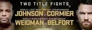 Chris Weidman x Vitor Belfort pesagem oficial