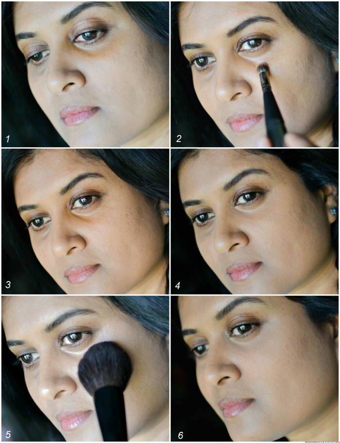 How to Apply Concealers to Cover Dark Circles Indian Skin - Makeup tutorial steps
