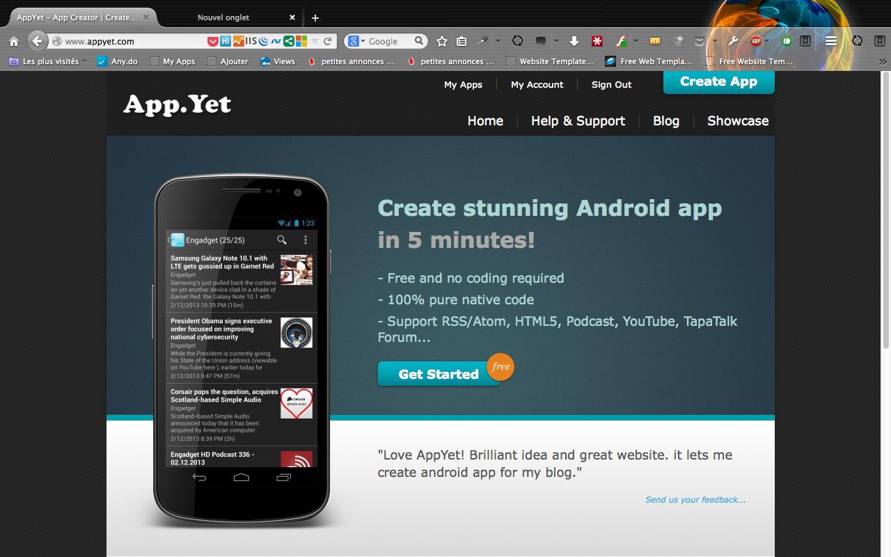 Créez une application android en moins de 5 minutes (avec AppYet), A Unix Mind In A Windows World