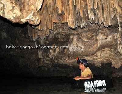 gua pindul, gua musang, gua maria,  tempurung
