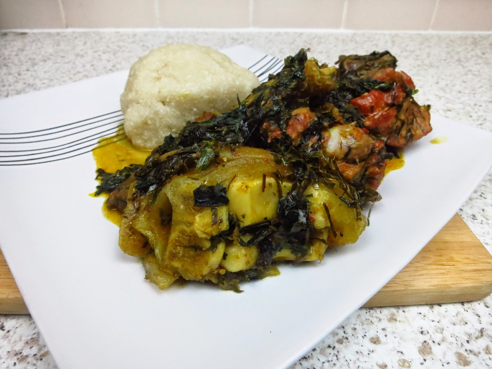 How to cook Afang Soup
