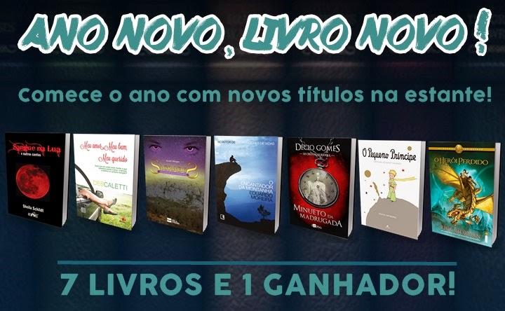 [Promoção] Ano Novo, Livro Novo