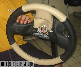 Bungkus setir Honda Freed