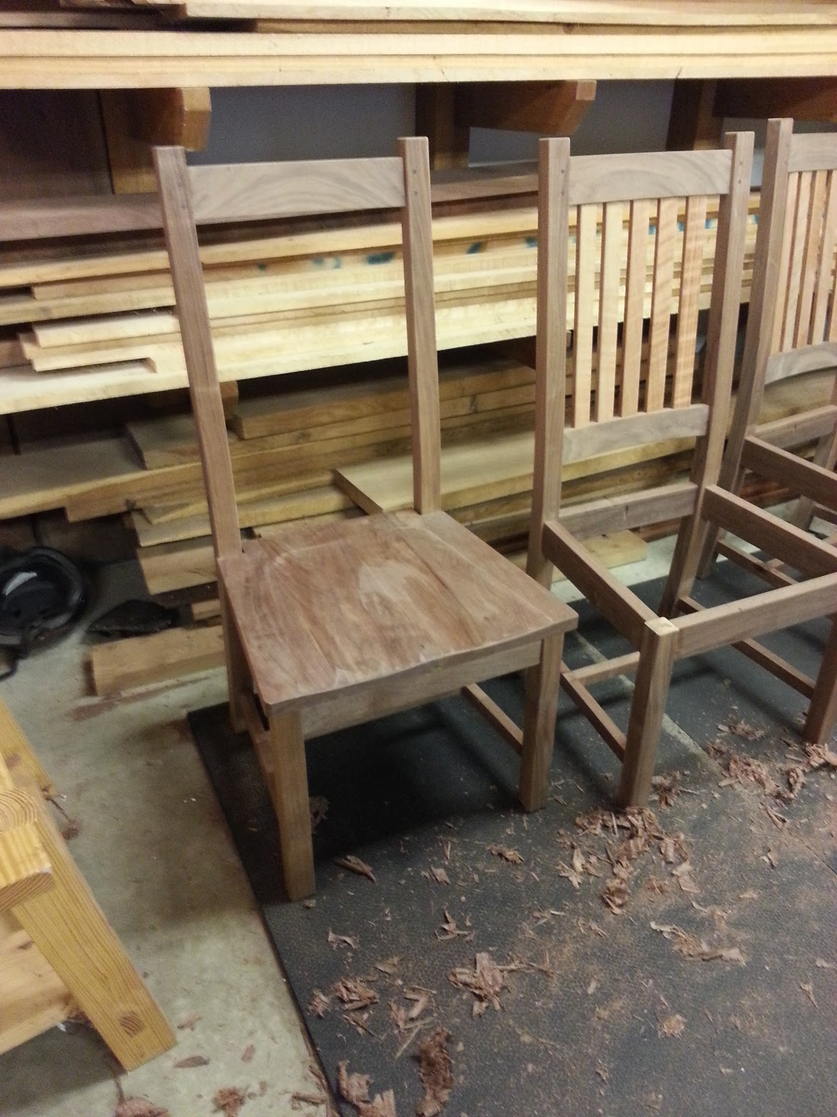 Westfall Woodcraft Dining Set Tutorial 6 Captains Chairs