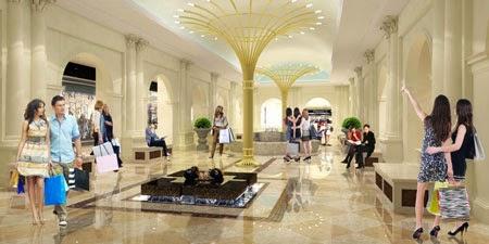 Thế giới mua sắm nơi bạn có thể thoải mái dạo chơi và shopping trung tâm thương mại Vincom Mega Mall Times City
