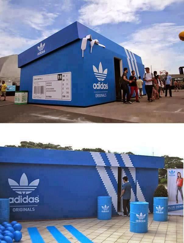 Adidas La Caja De Diseño Gigante Zapatos Cienxcien gpwYqC