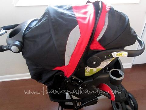 Eddie Bauer stroller infant seat