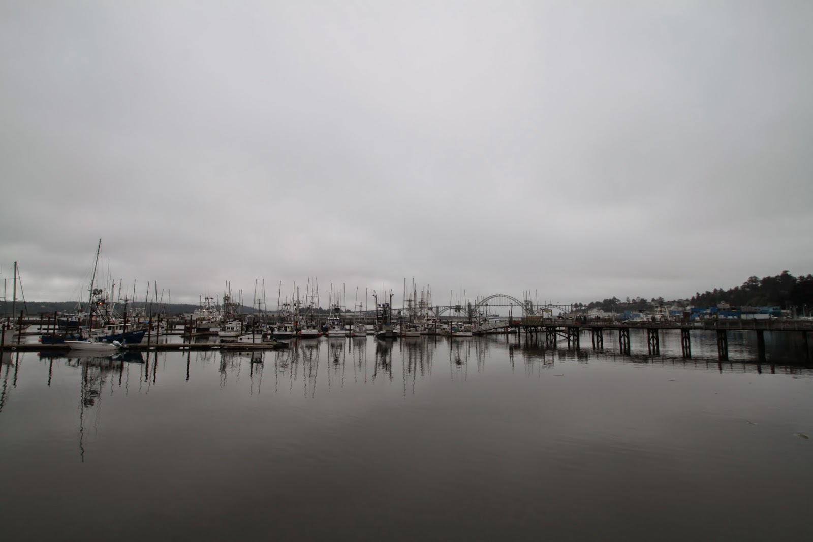 harbor or Newport, Oregon