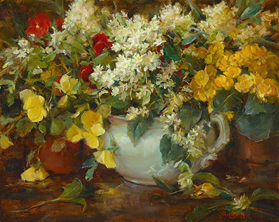 bodegones-con-flores-en-oleo