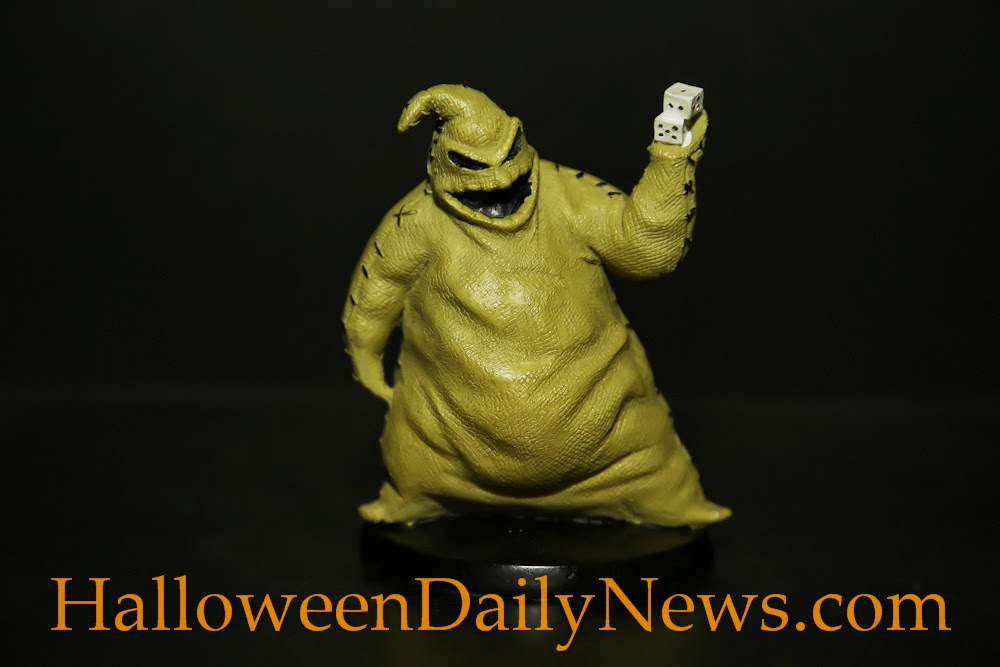 standing about 4 inches tall and highly textured this cool collectible from tim burtons holiday classic the nightmare before christmas is the perfect - The Nightmare Before Christmas Oogie Boogie