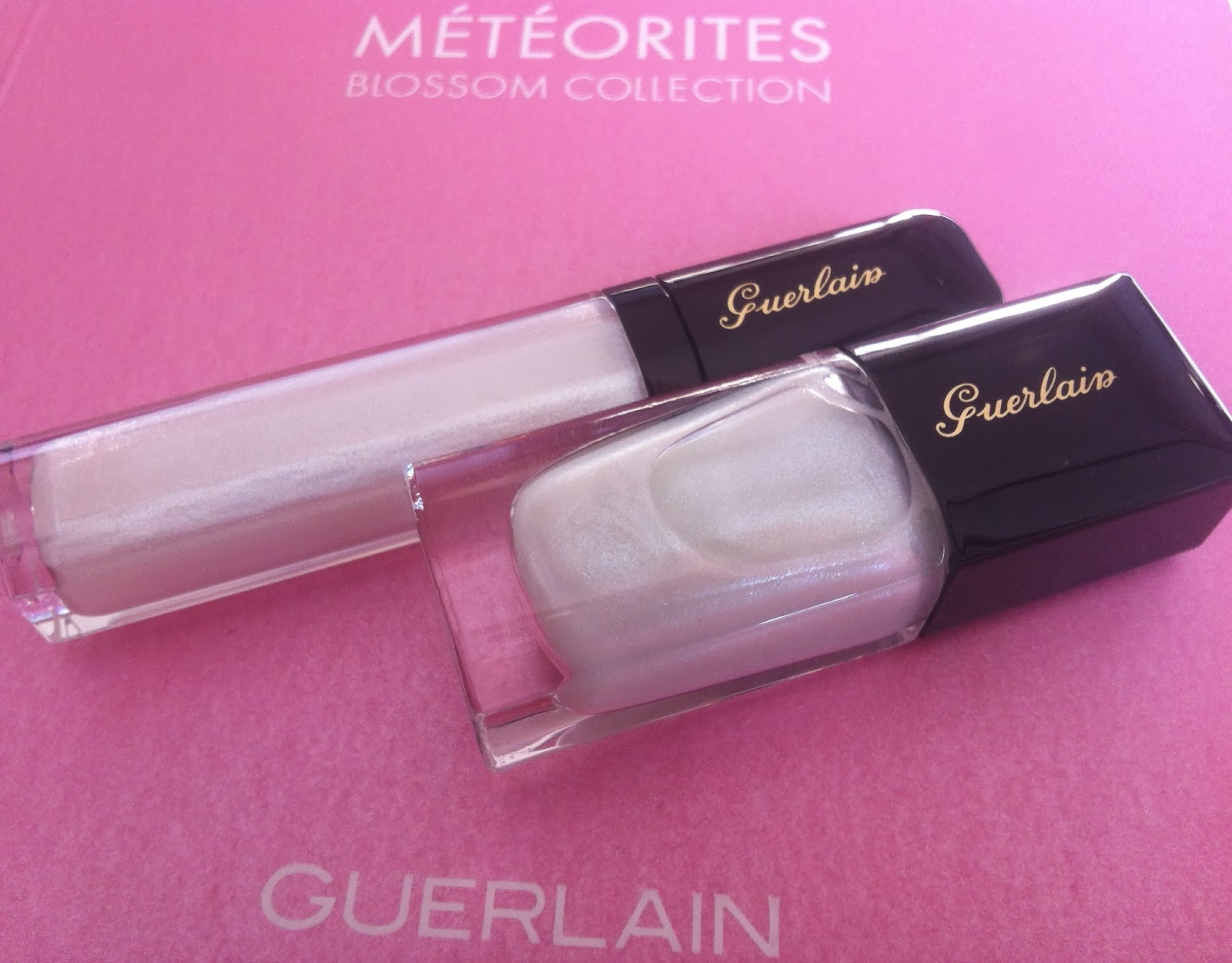Guerlain make up spring 2014 Météorites Blossom Collection, gloss d'enfer star dust, la laque couleur star dust