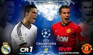 Cuplikan Goal Real Madrid vs Manchester United 2013