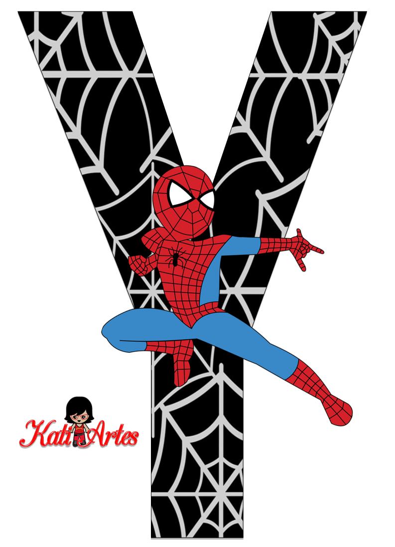 Y Spiderman Alfabeto de Spiderman ...