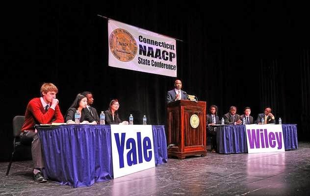 The FICKLIN MEDIA GROUP,LLC: NAACP's 'Great Debate' in New Haven features Yale, Texas college