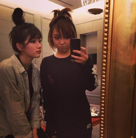 Min & Suzy New Hairstyle