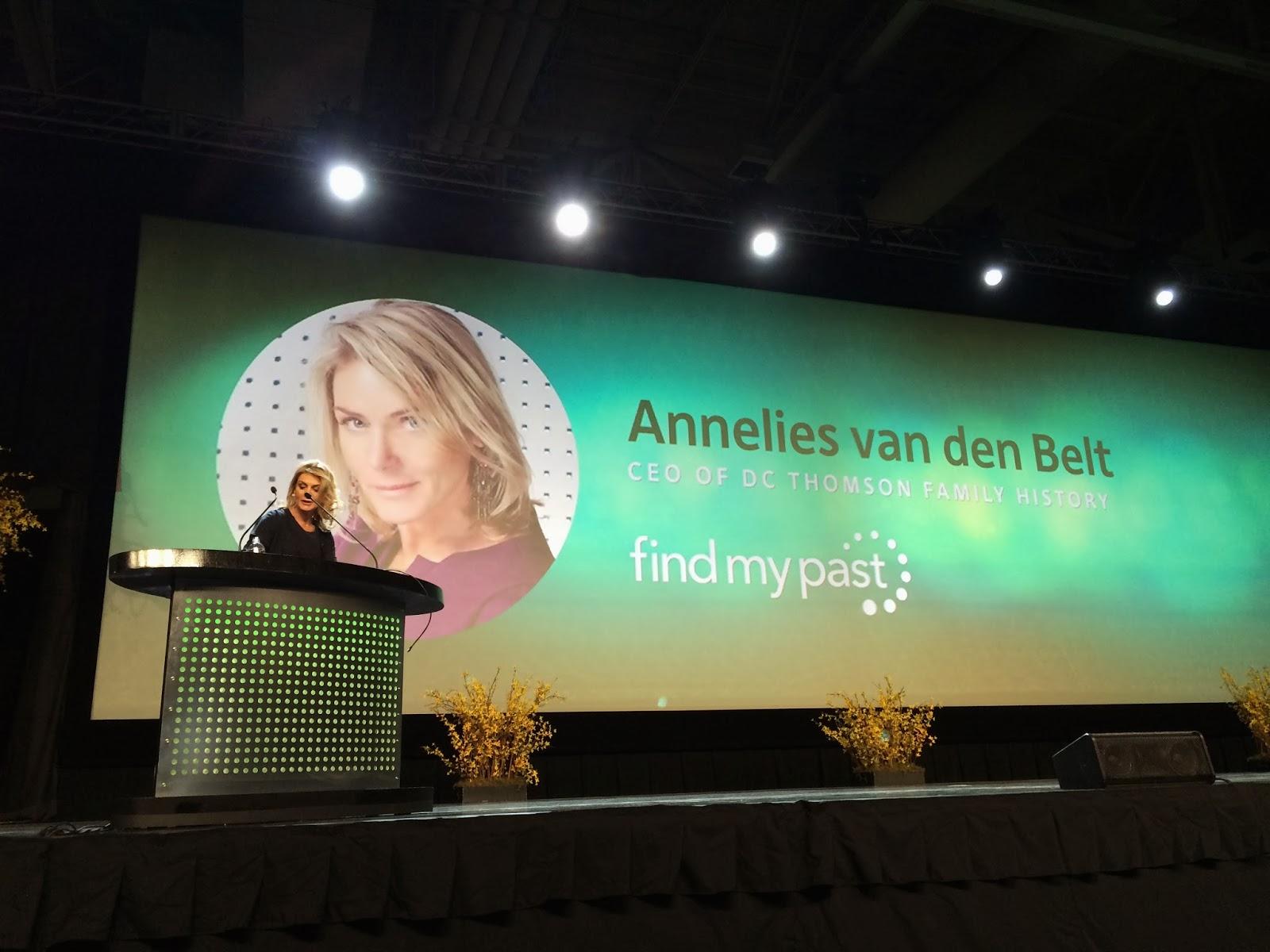 Annelies van den Belt of DC Thomson - Thursday Keynote #1