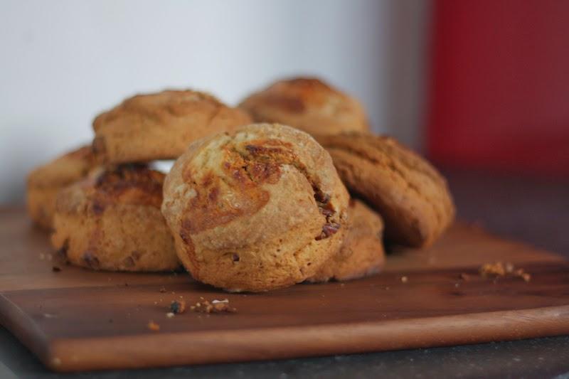biscuits met pecannoten