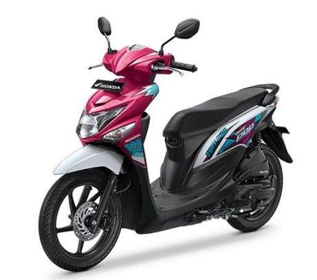 Warna Baru Honda Beat POP Comic Hits dan Cool Pixel