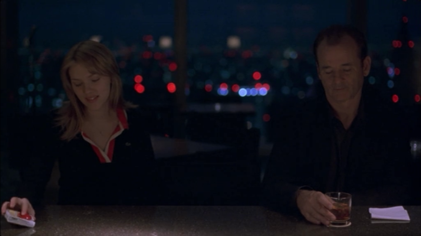 Inebriated Spook: The Empty Tourist: Lost In Translation and