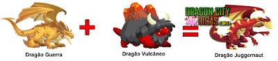 Dragão Juggernaut - Cruzamento
