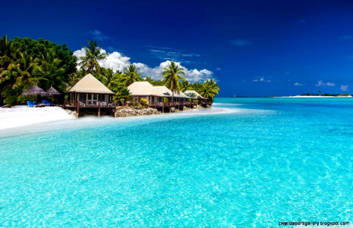 Tropical Landscape Little Paradise HD desktop wallpaper  High
