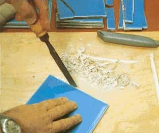 Собрать плитку по осколкам