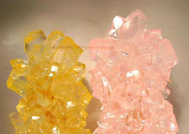 Dolci golosità:Candy rock lecca lecca di zucchero candito