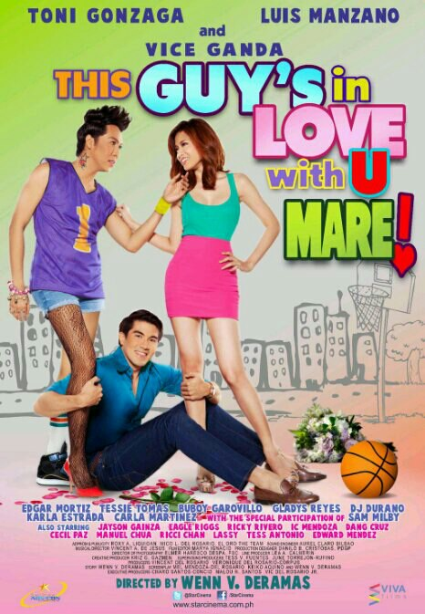 This In Love With You Mare official movie poster
