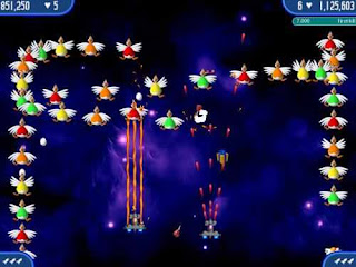 تحميل لعبة الفراخ مجانا Download Chicken Invaders Game