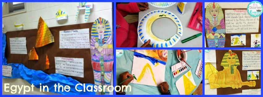 Egyptian Classroom Decor : Exploring ancient egypt k s classroom kreations