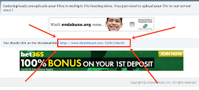 Cara Download Di Embedupload