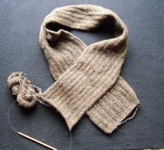 Eric's scarf