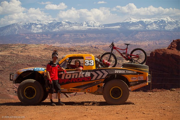 Tonka Of-road Trophy Truck with Troy Romano and Eric Porter