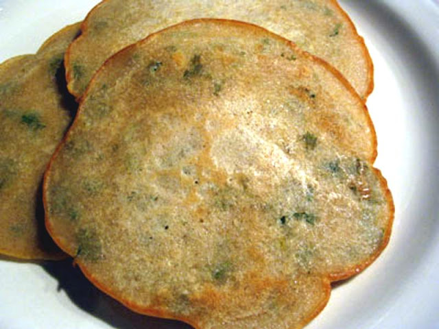 Indian Rice Flour Pancakes