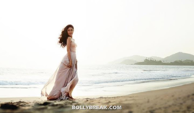 Kareena Kapoor beach hot pic - (5) - Kareena Kapoor Beach Photoshoot - Latest June 2012 Pics