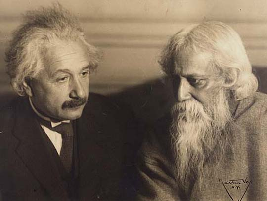Rabindranath tagore and Albert Einstein
