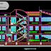 مخطط مشروع مركز التدريب التقني اوتوكاد dwg