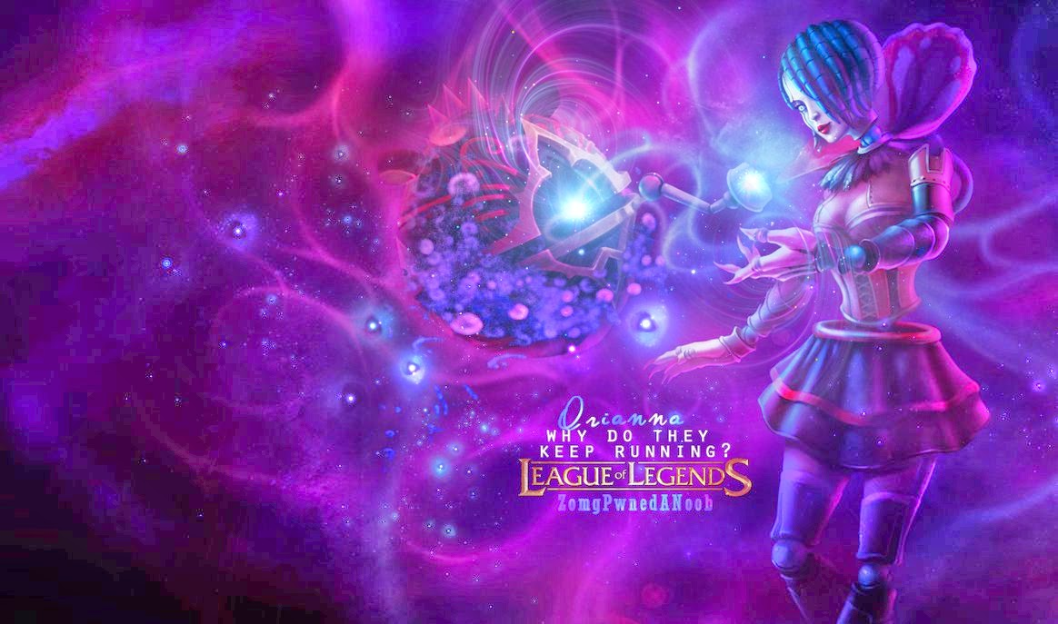 Orianna League of Legends Wallpaper