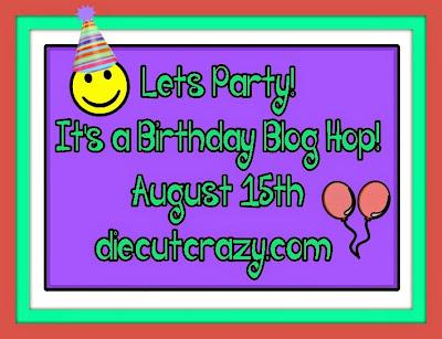 Die Cut Crazy Birthday Blog Hop