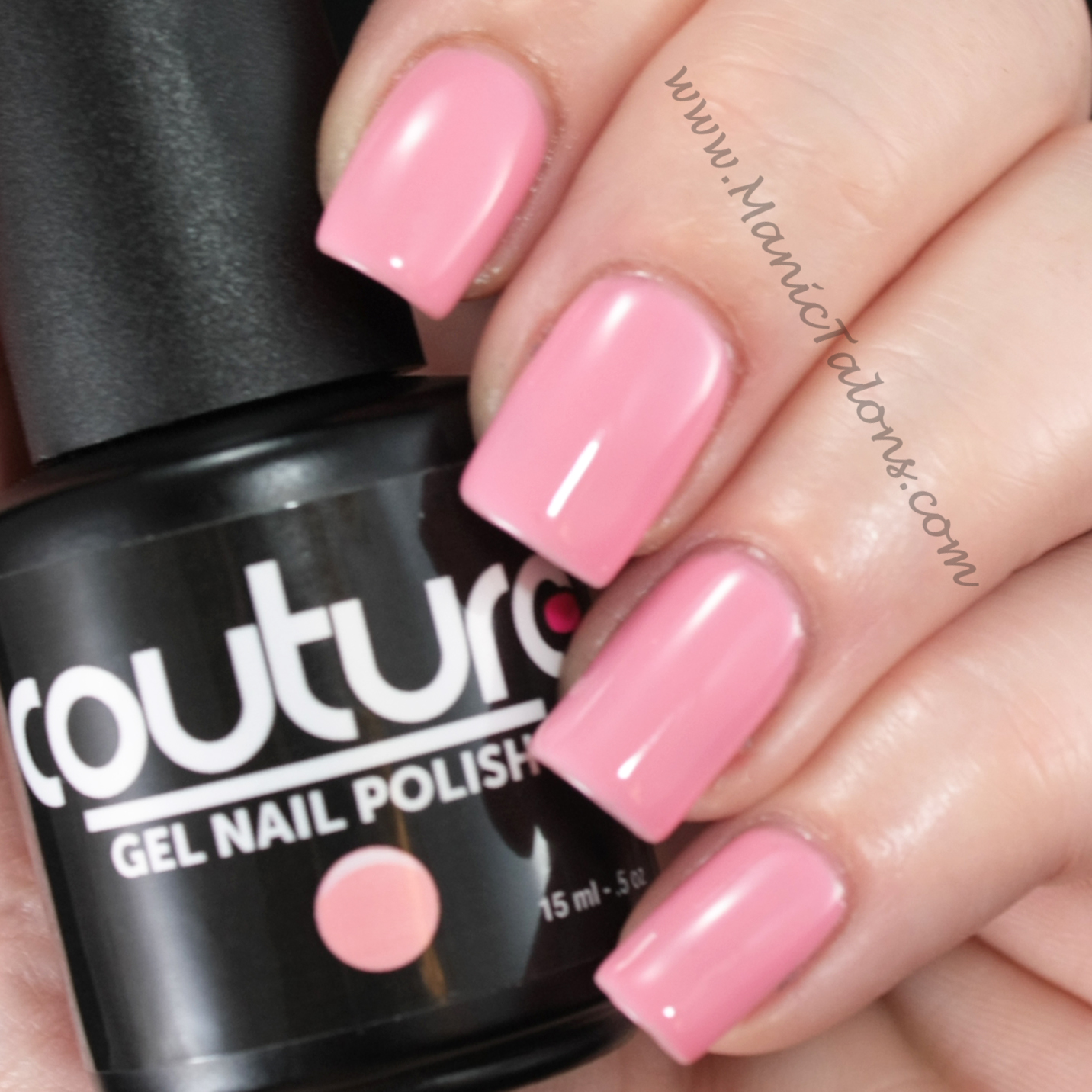 Couture Gel Nail Polish Sweet Cheeks Swatch