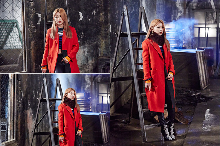 4Minute So Hyun 'Cold Rain' MV