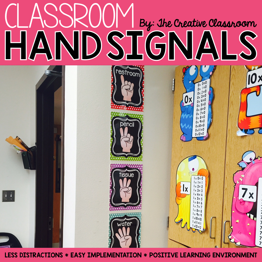 Stupendous Using Hand Signals In The Classroom The Creative Classroom Download Free Architecture Designs Scobabritishbridgeorg