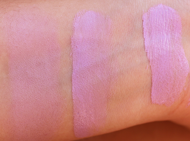 etude house water color blusher swatches