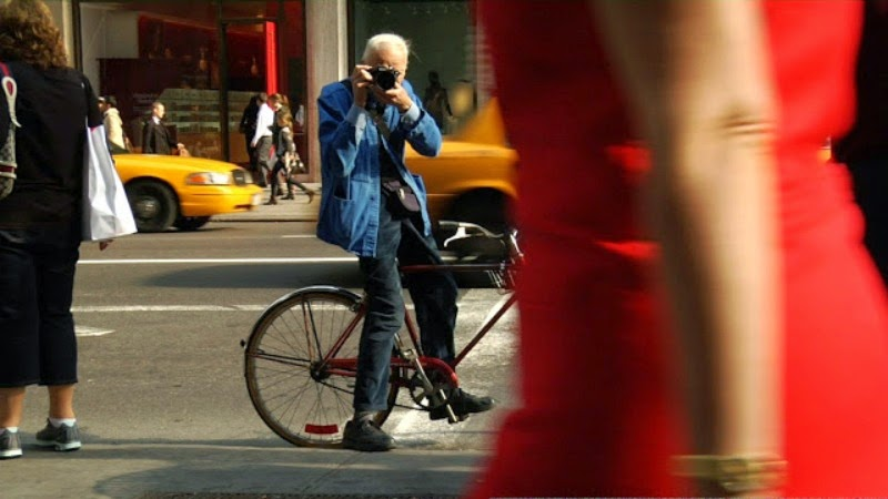 bill cunningham photographer bike