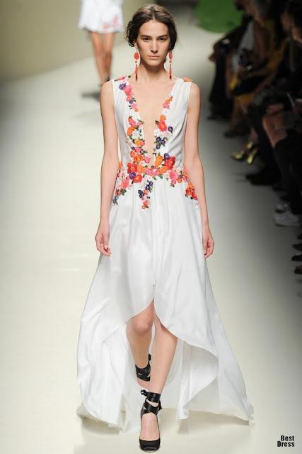 Colección de vestidos Alberta Feretti