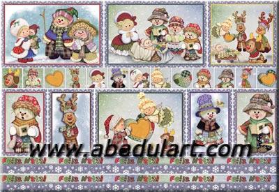 Decoupage y manualidades para navidad decoupage f cil - Papel decoupage infantil ...