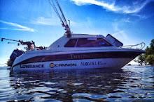 Båten Vi Fiskar I Från