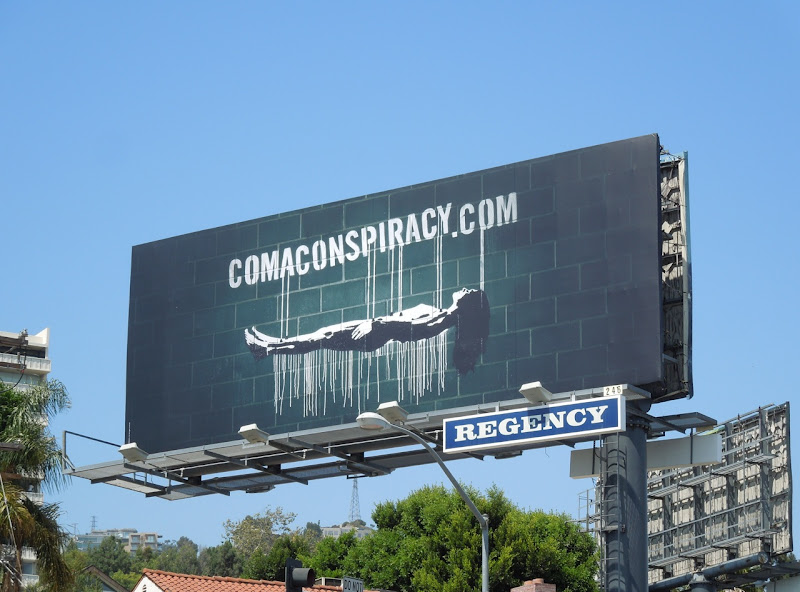Coma TV remake teaser billboard